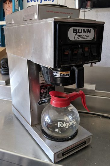 Bunn Omatic Commerical Coffee Maker