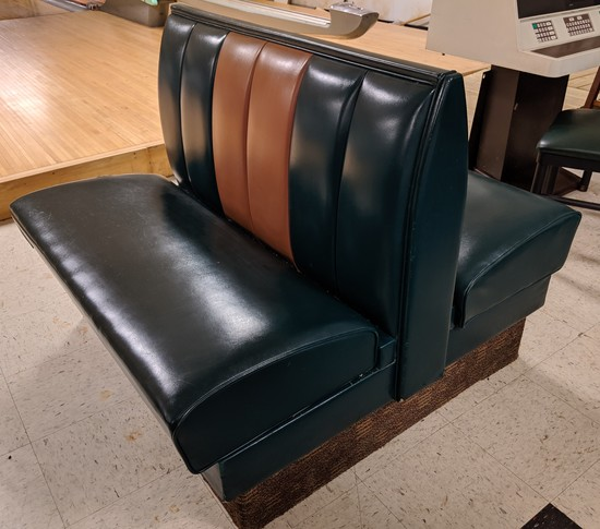 Double Sided Booth Bench