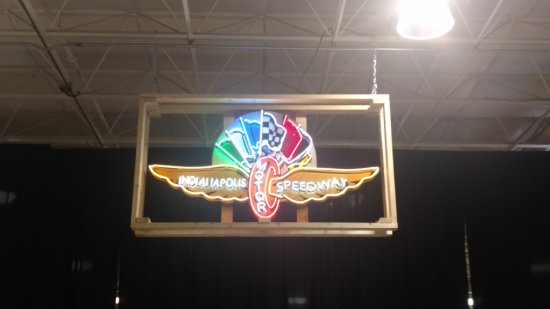 Indianapolis Motor Speedway Neon Sign