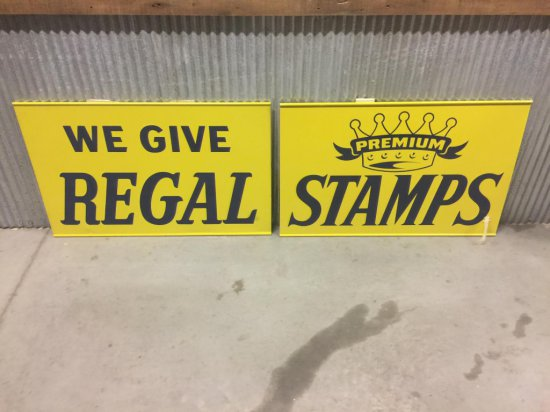 Regal Premium Tin Sign