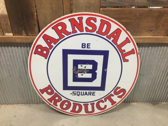 Barnsdall Products B Square Sign