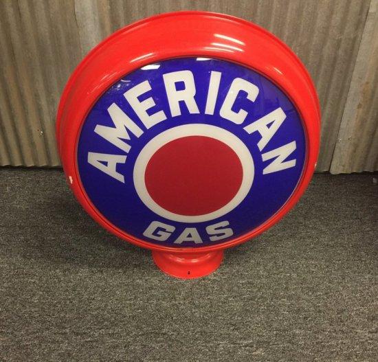 American Gas Globe in HP Metal Body