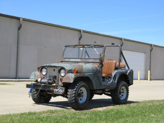 1953 Willys MB38A1 Jeep
