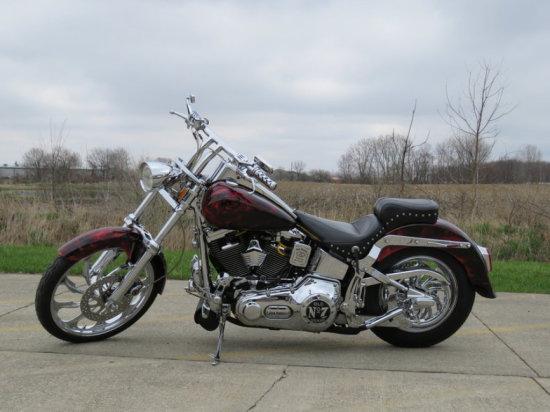 2010 Harley Davidson Softail Jack Daniels Custom