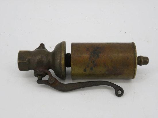 Brass steam whistle c. 1882