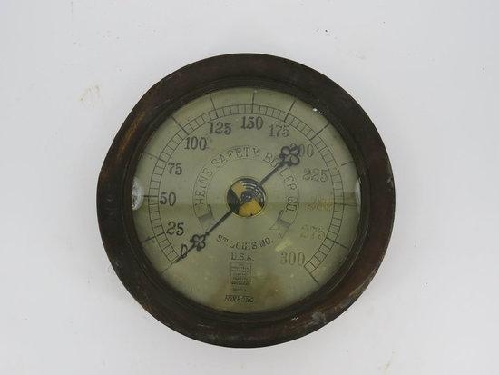 """Brass open center boiler gauge """"ASIS"""""""
