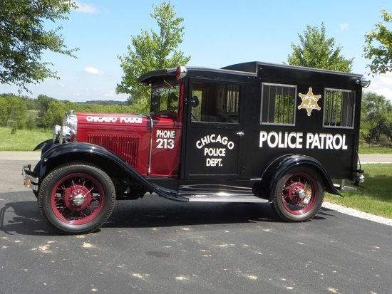 1931 Ford Model A Paddy Wagon
