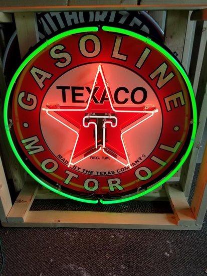 """36"""" Texaco Neon Sign"""