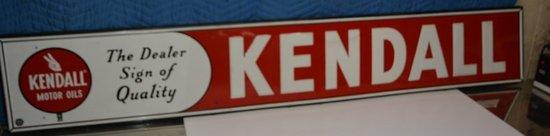 Kendall Motor Oil metal sign