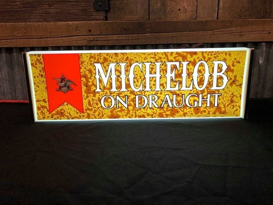 Michelob On Draught Lighted Beer Sign