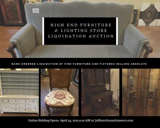 Fine Furnishings & Lighting Store Liquidation