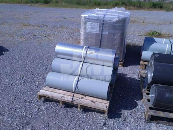 APPROX. 6 ROLLS OF ALUMINUM INSULATION SHEETING , QTY (1