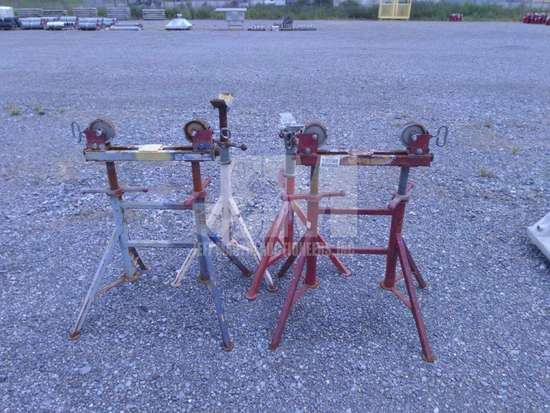 PIPE STANDS, QTY (1 LOT), CONDITION UNKNOWN/AS IS , ***THIS