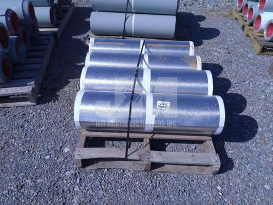 APPROX. 4 ROLLS OF ALUMINUM INSULATION SHEETING , QTY (1