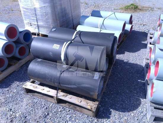 APPROX. 5 ROLLS OF ALUMINUM INSULATION SHEETING , QTY (1