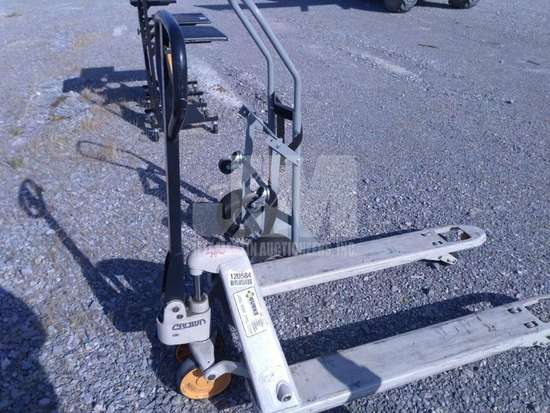 PALLET JACK/HAND TRUCK, QTY (1 LOT), CONDITION UNKNOWN/AS IS ,