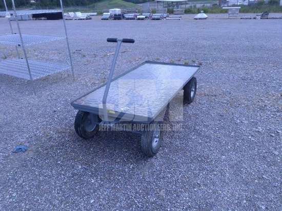 METAL UTILITY WAGON , QTY (1 EACH ), CONDITION UNKNOWN/AS