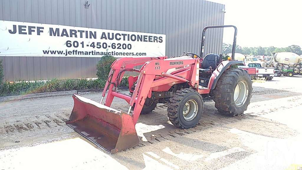 MAHINDRA 4110 SN: 4110A0802365 | Farm Machinery & Implements