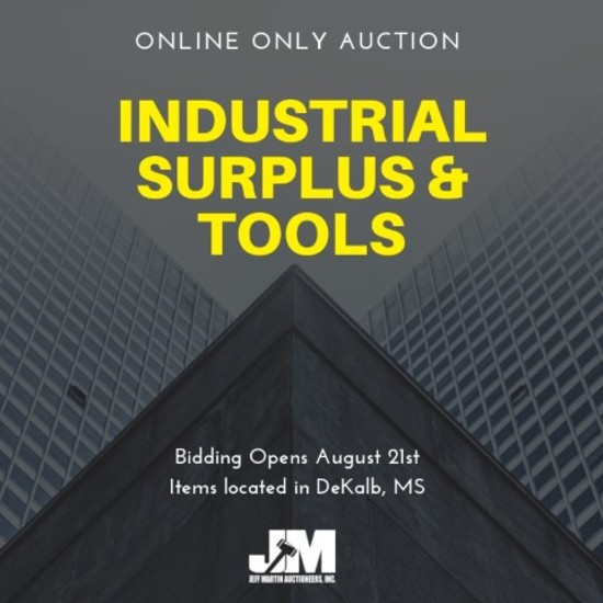 Industrial Surplus Liquidation Online Auction