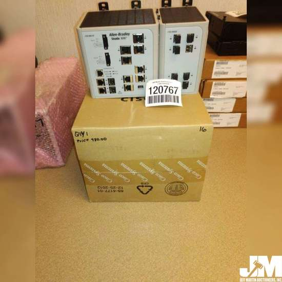 ALLEN-BRADLEY 1783-M510T/A STRATIX 800 MODULAR MANAGED ETHERNET NET SWITCH, AS