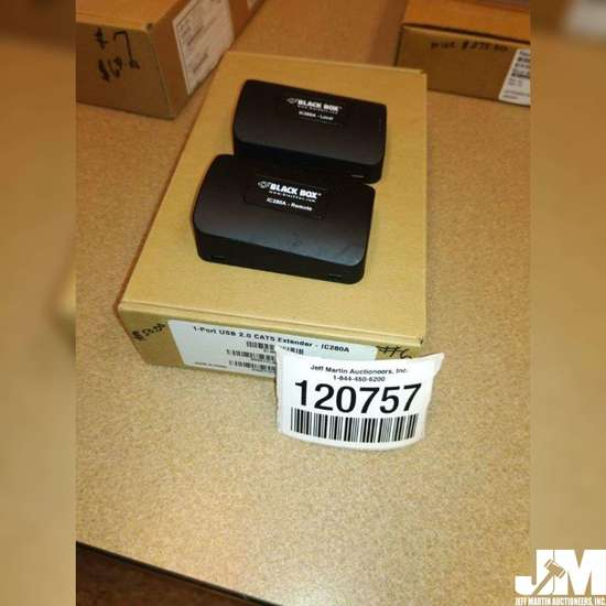BLACK BOX SERVICES 2 PORT USB 1.1 & 2.0 EXTE