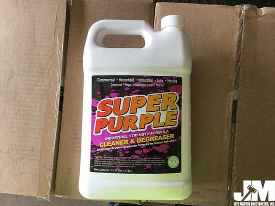 QTY OF (6) 1 GAL BOTTLES OF SUPER PURPLE CLEANER