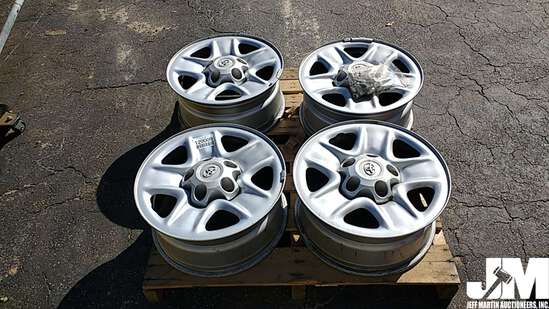 "QTY OF (4) 19""...... WHEELS, TO FIT TOYOTA PICKUP TRUCK"