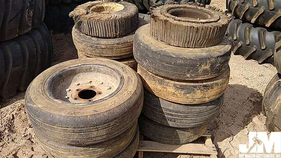 (13) VARIOUS SIZE & STYLE BATWING TIRES, ***COUNTY OWNED***