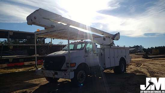 2004 FORD F-750XL SD VIN: 3FRXF75P64V677145 S/A BUCKET TRUCK