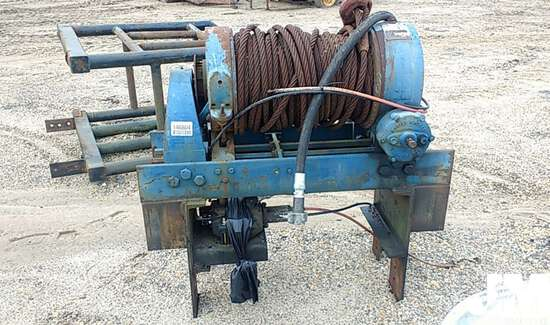 RAMSEY 45,000 LB WINCH, TO FIT TRUCK TRACTOR