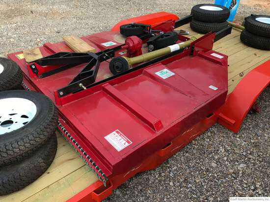 """(UNUSED) 84""""...... DECK BIG BEE ROTARY CUTTER W/ PTO, 3PT"""