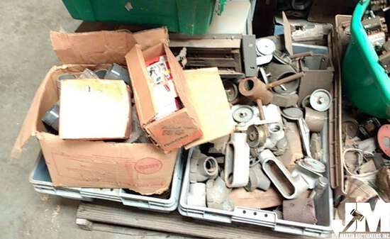 MISC QTY OF STEEL & PLASTIC PIPE FITTINGS, WATER NOZZLES,