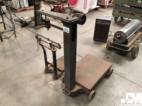 QTY OF (2) FAIRBANKS MORSE INDUSTRIAL PORTABLE SCALES