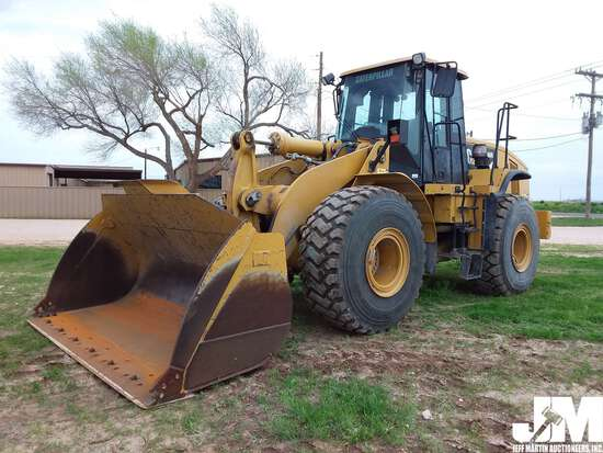 2008 CATERPILLAR 966H SN: A6D02036 WHEEL LOADER
