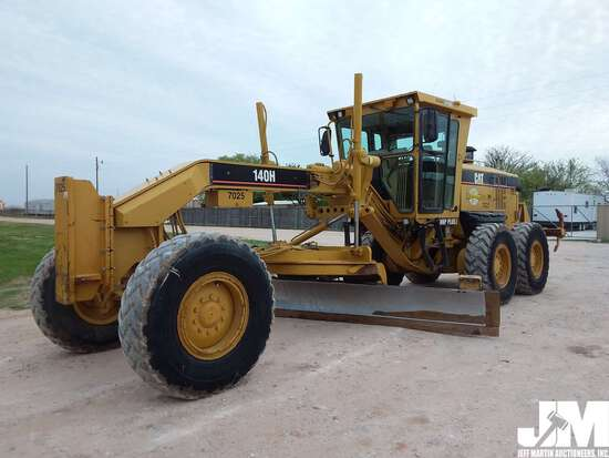 2005 CATERPILLAR 140H SN: CAT0140HCCCA01183 MOTORGRADER