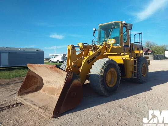 2011 KAWASAKI 80C SN: 80C55433 WHEEL LOADER