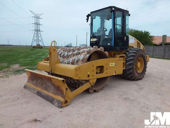 2011 CATERPILLAR CP56 SN: CAT0CP56PC5P00572 SINGLE DRUM VIBRATORY ROLLER
