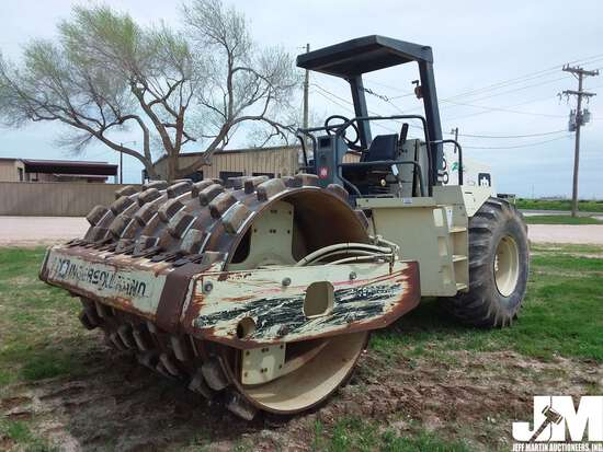 1994 INGERSOLL RAND SD100F SN: 10474 SINGLE DRUM VIBRATORY ROLLER