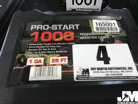 (UNUSED) PRO-START 1000 PS1BC001 25'...... HD PRO SERIES BOOSTER CABLES