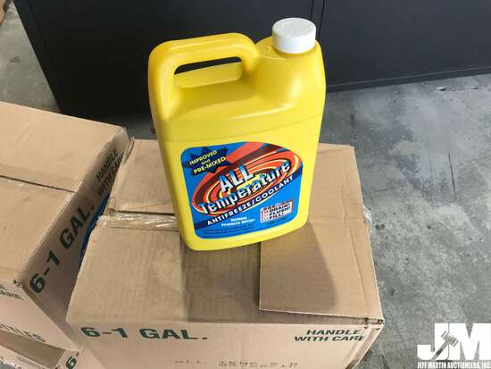 (UNUSED) QTY OF (6) 1 GAL ALL TEMPERATURE PRE-MIXED ANTIFREEZE/COOLANT