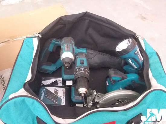 (RECONDITIONED) MAKITA TOOL SET BATTERY POWERED