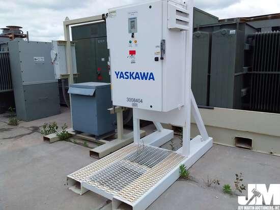 YASKAWA 75HP DEWATERING PUMP, ***ITEM DAMAGED IN 2019 IOWA FLOOD,