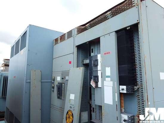 TRANSFORMER/POWER DISTRIBUTION CENTER 2500KVA, W/ SQUARE D SOLID STATE STRIP