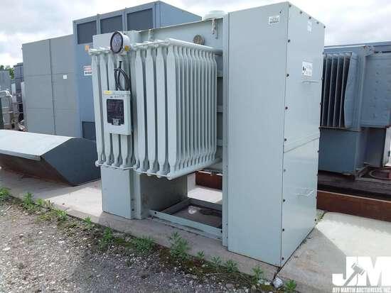 SUNBELT TRANSFORMER/POWER DISTRIBUTION CENTER 750KVA, ***ITEM DAMAGED IN 2019 IOWA