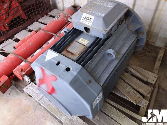 ABB MOTOR, ***ITEM DAMAGED IN 2019 IOWA FLOOD, CONDITION IS