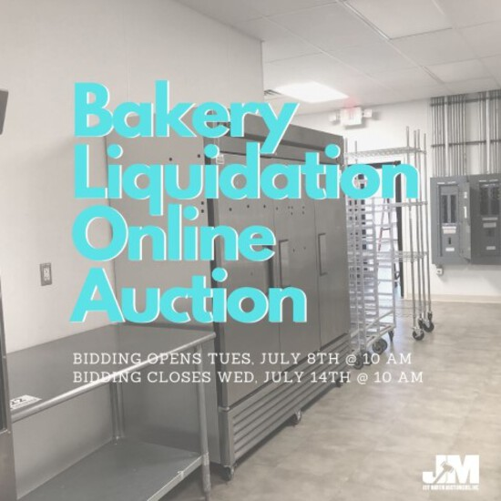 National Bakery Online Liquidation Auction