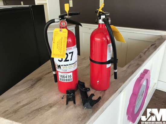 QTY OF (2) FIRE EXTINGUISHERS