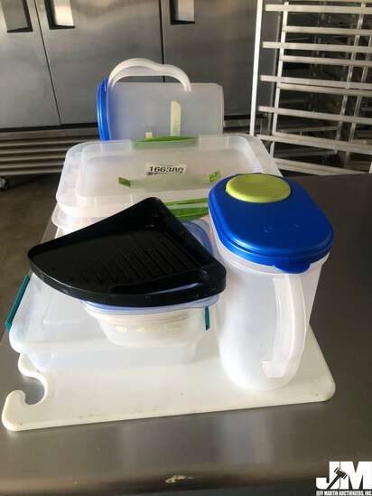 QTY OF MISC FOOD STORAGE CONTAINERS