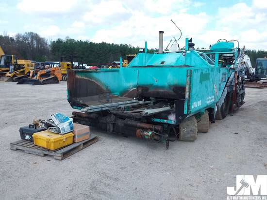2003 VOGELE 1010WB RUBBER TIRE PAVER  SN: 30498
