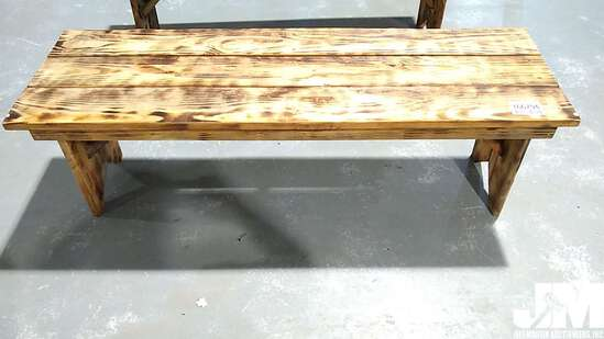 4.5' TREATED WOOD BENCH